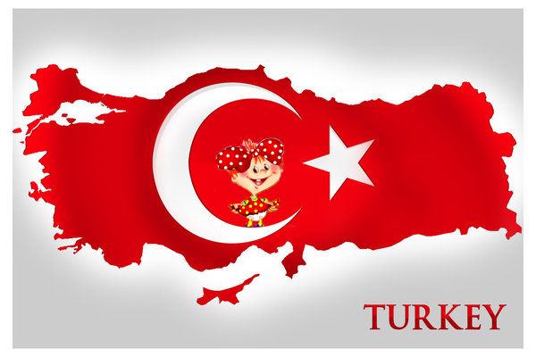 флаги Turkiye